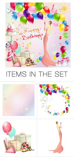 """Happy July Birthday!"" by molly2222 ❤ liked on Polyvore featuring art"