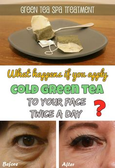 What happens if you apply cold green tea to your face twice a day? Try it! - Beauty-Total.com