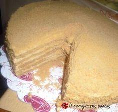 Η απόλυτη καραΜΕΛΕΝΙΑ τούρτα! Greek Desserts, Fun Desserts, Yami Yami, Food And Drink, Lemon, Sweets, Bread, Cheese, Cookies