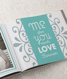 wedding lay-out idea for your photo book! #wedding #photobook #smilebooks