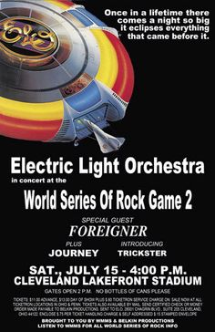 World Series of Rock - I was there!  :) and every concert other WSR!
