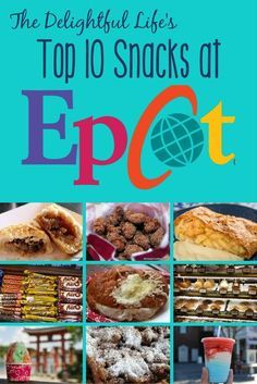 Headed to Walt Disney World soon? Whether you're on the dining plan or just looking for the best bang for your buck, we've got a list of must-try snacks in Epcot!