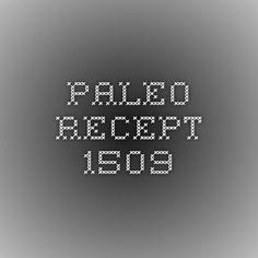Paleo recept 1509