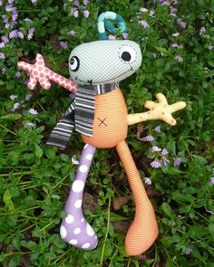 Melly & Me Acute Softie Sewing Pattern