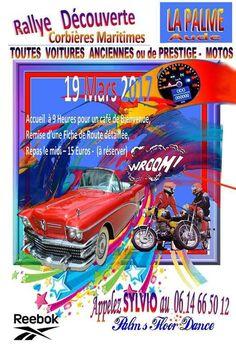 Rallye voitures anciennes & motos 2017 le 19 mars à La Palme