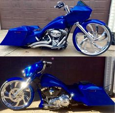 I would ride it! Harley Bagger, Bagger Motorcycle, Harley Bikes, Custom Baggers, Custom Harleys, Custom Street Bikes, Custom Bikes, Monster Bike, Motos Harley Davidson