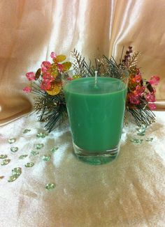 ETCHED 1950s Shot Glass Candle, $9.95 NZD Vintage Candles, Soy Wax Candles, Glass Candle, Shot Glass, 1950s, Pottery, Table Decorations, Home Decor, Ceramics