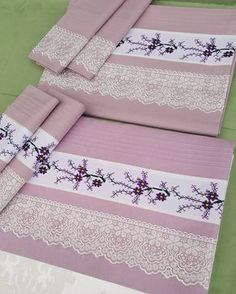 68 Likes, 3 Comments - Patishk Cross Stitch Borders, Cross Stitch Patterns, Beautiful Friend, Bed Covers, Hand Towels, Beading Patterns, Bed Sheets, Diy And Crafts, Pillow Cases