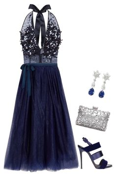 """Untitled #3806"" by elia72 ❤ liked on Polyvore featuring Jenny Packham, J.Crew and Giuseppe Zanotti"