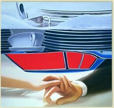 James Rosenquist helped define Pop Art in its heyday with his boldly scaled painted montages of commercial imagery. Artist Painting, Painting & Drawing, Die Eifel, James Rosenquist, Tv Movie, Pop Art Movement, Claes Oldenburg, Cultura Pop, Andy Warhol