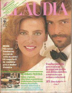 """Bruna Lombardi- Beleza Rara: Bruna Lombardi """"Revista Claudia"""""""