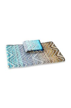 Shop Towels in the Missoni Online Store. Missoni, Unisex, Beach Towel, Bags, Color Azul, Towels, Products, Games, Blue Nails
