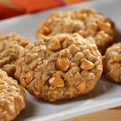 Whatcha Got Cookin?: Oatmeal Butterscotch Cookies:
