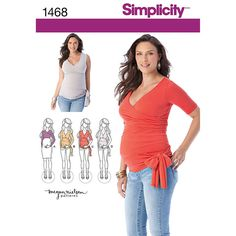 Shop Simplicity Misses'' Knit Maternity Tops Pattern, and more of our Misses Blouse Top Patterns. Shop our huge selection of thread and fabric, enjoy savings with sales and coupons!