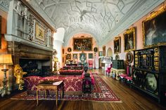 The Great Hall at Glamis Castle, Scotland