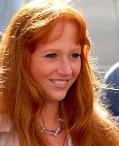 German Woman Portrait - Dutch summer festival of the Redhead Day in Breda, September 2010 - Human hair color - Wikipedia, the free encyclopedia