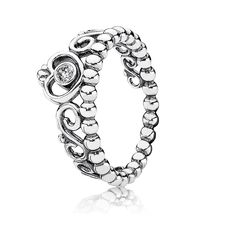 The Pandora My Princess Ring features a sterling silver tiara set with a sparkling cubic zirconia. Shop your Pandora Silver Rings here. Pandora Charms, Rings Pandora, Pandora Bracelets, Pandora Jewelry, Jewelry Rings, Gold Jewellery, Pandora Uk, Pandora Accessories, Pandora Beads