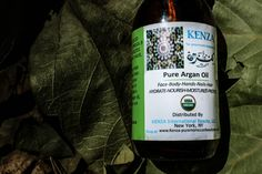 Eco Friendly Brands : Kenza Pure Argan Oil
