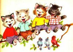 4 gatinhos felizes elizabeth webbe 1956