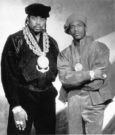 Eric B and Rakim totally bought a kids fisher price cassette player and no joke these guys tape was in the player. Too funny