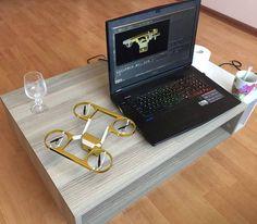 Gold  #nanodrone #tech #pocketdrone  #drone #photography #iot #selfie #StartinLatvia #Drofie by getdrofie