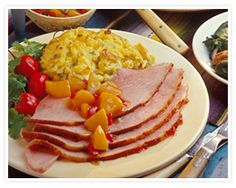 Spiral-Sliced Ham with Pepper Jelly Glaze Recipe. Start a new family tradition this year with an ham inspired by the Southwest. Diabetic Gourmet Magazine recipes. DiabeticGourmet.com