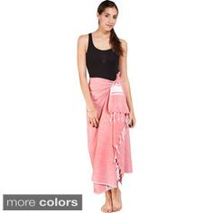 Shop for Women's Summer Fouta Cotton Sarong Wrap (India) . Free Shipping on…