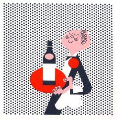 Coronet Brandy Identity | Paul Rand, American Modernist (1914-1996)