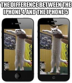 The Difference between the iPhone 4 and the iPhone 5