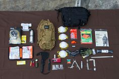 Bug-out Bag Loadout The Ultimate Urban Survival Kit TUUSK