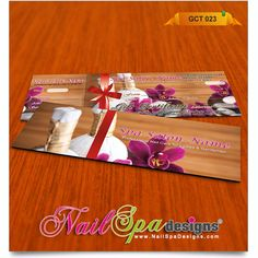 Gift Certificate Template For Nail Salon Visit WwwNailSpaDesigns - Nail gift certificate template