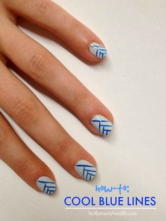 How-to: Cool Blue Lines