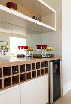 Lindo projeto de Decoração de interiores do apartamento modelo decorado do empreendimento Landscape Perdizes da construtora Shpaisman