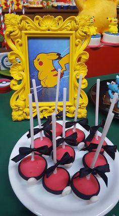 Seu filho vai amar esta linda Festa Pokemon. Imagem Mimos & Festas Lindas ideias e muita inspiração! Bjs, Fabiola Teles.          Mais ideias lindas: Mimos &...