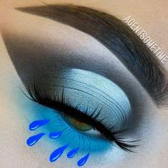 Sunday time sadness! @agentsometime sheds the most beautiful tears in our 'Electra' lashes - known to cure any oncoming Monday moping or heavy hearts.  #rougeandrogue