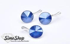Set pandantiv și cercei swarovski cu bază din argint 925! #simoshop #bijuterii #accesorii #argint #swarovskicrystals #swarovski #newcolection Round Sunglasses, Swarovski, Round Frame Sunglasses