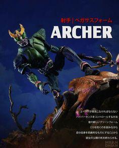 Kamen Rider Kuuga SAGA ARCHER  ===================================== http://fb.me/mrahdhianphotoworks http://instagr.am/mrahdhian  #kamenrider #kamenriderkuuga #kamenriderkuugasaga #maskedrider #superimaginativechogokin