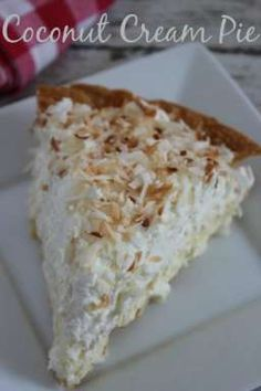 Coconut Cream Pie Re