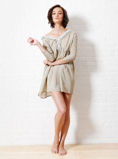 Rhode Resort - Tara Dress - Khaki    Modern, Bohemian, Gypset, Glam, Resortwear, Luxurious, Travel   rhoderesort.com