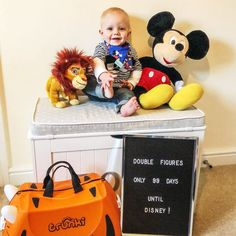 We've hit a big milestone today - double figures on our Disney count down! We got into the Disney spirit today by buying more holiday… Dribble Bibs, Baby Wearing, Counting, Toy Chest, Spirit, Babies, Big, Disney, Holiday
