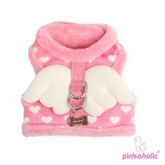 Pink Dog Harness With Wings .:BēLLäSFãSh!oN:.