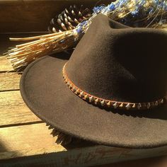 HTC Custom Broner Hat. #standardcalifornia #スタンダードカリフォルニア #htc #hollywoodtradingcompany #hat