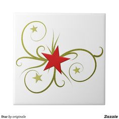 Star Small Square Tile
