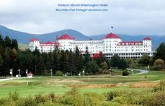 Mt Washington Hotel Resort 27 Hole Golf Course White Mountains Bretton Woods