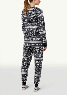Fairisle Penguin Onsie PJs | Sleepwear | rue21.   ....I am so making these!