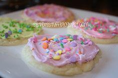 EASY sugar cookie recipe - white cake mix, oil  eggs