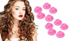 Groupon - 10, 20, 30 or 40 Magic Hair Curlers. Groupon deal price: £3.98