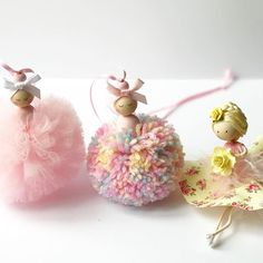 Morning all, sharing an order I sent out yesterday. Have a wonderful Tuesday #pompompink #pompomballerinas #rainbowballerina #pompom #pompoms #fairy #handmade #handmadefairy #fairymaker #fitforaprincess #etsy #etsyuk #etsyshop #etsyaddict #hellosmallshop #crafts #handmadegifts #girlsroomdecor #girlsbedroomdecor