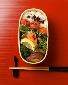 鮭のマスタード焼き弁当 / Mustard Salmon Bento お弁当を作ったら #edit_jp で投稿してね!