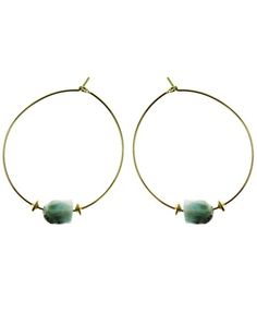 You'll love these simple, elegant gemstone hoop earrings to dress up or dress down. Adorned with a sparking, rough cut gemstones, these hoop earrings are available in 14k gold fill and sterling silver. #Nashelle #NashelleJewelry #AllureCollection #Fashion #FashionFeedingHunger #Charity #FeedingAmerica #GiveBack #Love #Jewelry #Custom #WhoWhatWear #PNWStyle #LiveAuthentic #Dazzling #Divine #Love